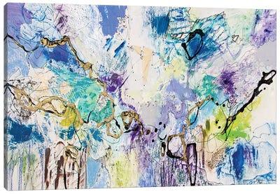 Rainbow Blue IV Canvas Art Print