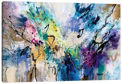 Rainbow Blue V Canvas Art Print