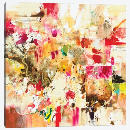 Fiesta II Canvas Print #NER46} by Jennifer Gardner Canvas Print