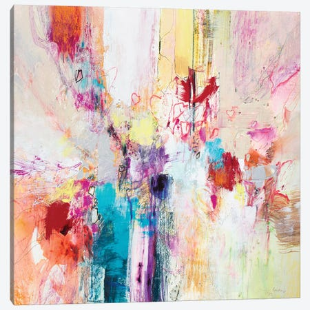 Fiesta III Canvas Print #NER47} by Jennifer Gardner Art Print