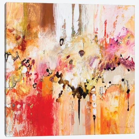Red, White & Gold III Canvas Print #NER50} by Jennifer Gardner Art Print