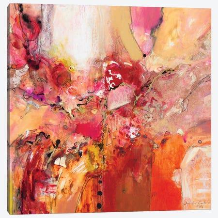 Red, White & Gold IV Canvas Print #NER51} by Jennifer Gardner Art Print