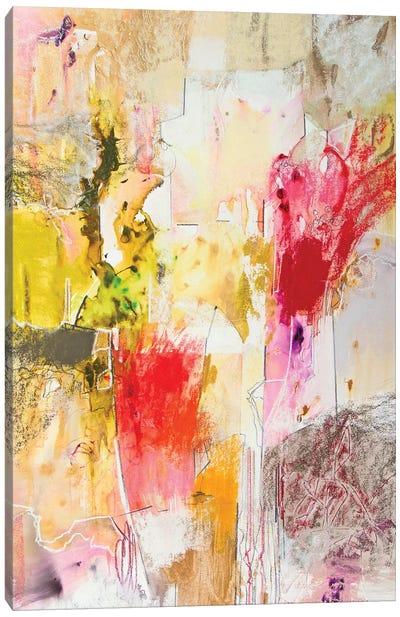 Vertical Reds I Canvas Art Print