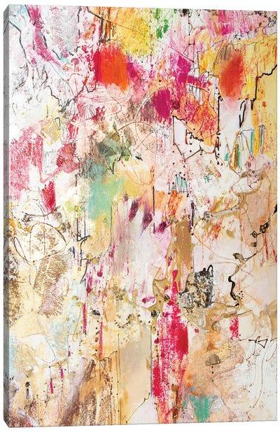 Vertical Reds II Canvas Art Print