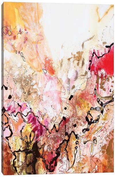 Vertical Reds III Canvas Art Print