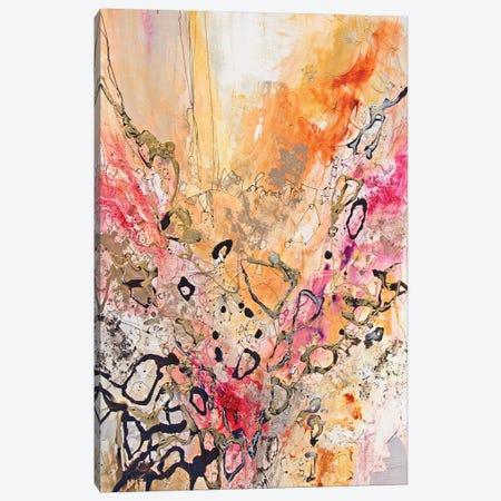 Vertical Reds IV Canvas Print #NER56} by Jennifer Gardner Canvas Art