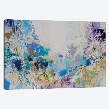Blue Series 16 Canvas Print #NER58} by Jennifer Gardner Art Print