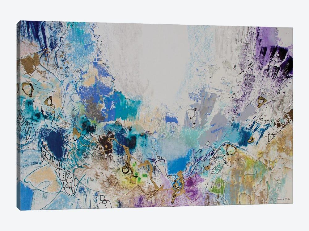 Blue Series 16 by Jennifer Gardner 1-piece Canvas Artwork