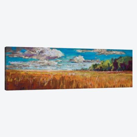 Late Summer Clouds Canvas Print #NER62} by Jennifer Gardner Canvas Art