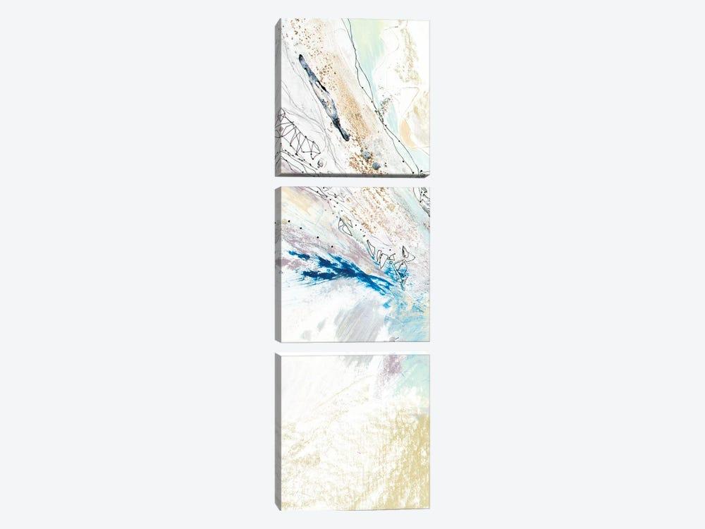 Seafoam Neutral II by Jennifer Gardner 3-piece Canvas Art Print