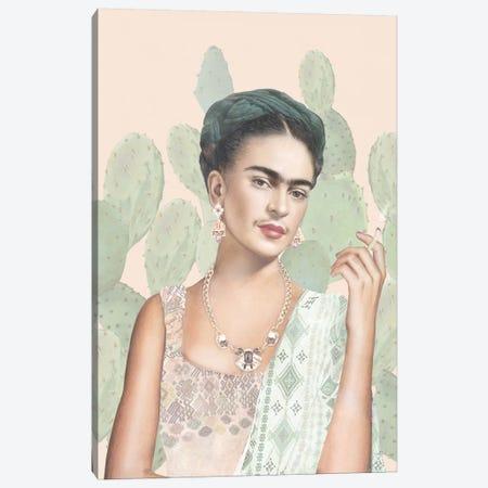 Couture Mexicaine Canvas Print #NET10} by Nettsch Art Print