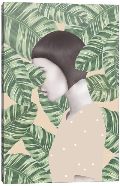 Flora I Canvas Art Print