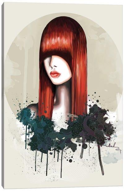 Redhead Canvas Print #NET28