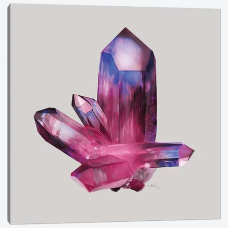 Amethyst Canvas Print #NET2} by Nettsch Canvas Artwork
