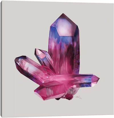 Amethyst Canvas Art Print