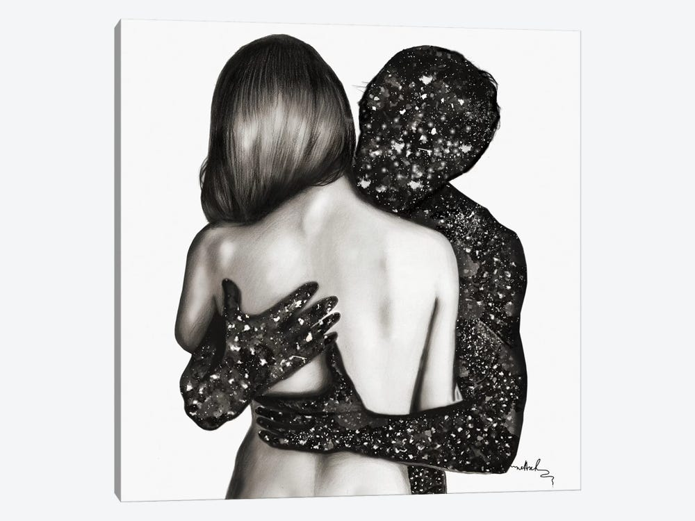 Unusualcouple by Nettsch 1-piece Canvas Artwork
