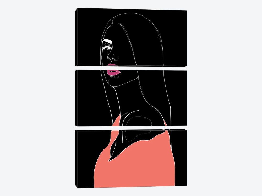 Justify by Nettsch 3-piece Canvas Print