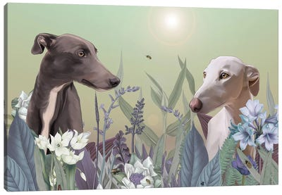 Springlight Canvas Art Print