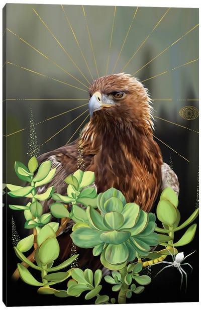 Buzzard Canvas Art Print