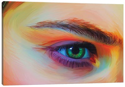 Melina Canvas Art Print
