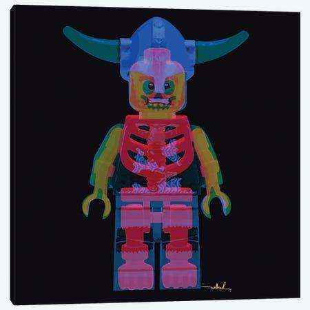 Lego, Double Exposure Canvas Print #NET89} by Nettsch Canvas Wall Art