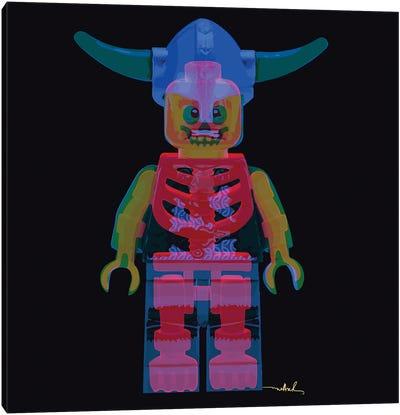 Lego, Double Exposure Canvas Art Print