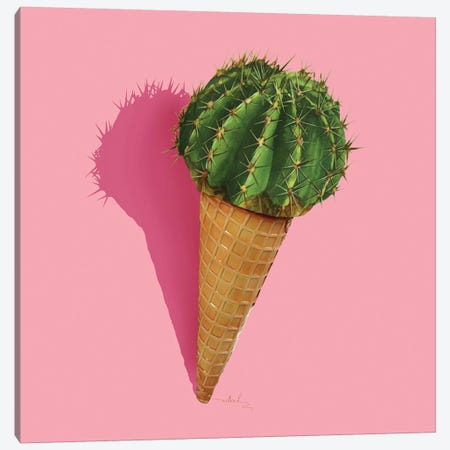 Caramba Cacti Canvas Print #NET8} by Nettsch Canvas Art