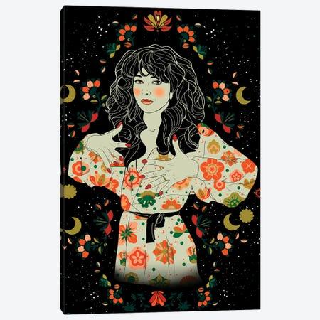 Kate Bush Canvas Print #NET90} by Nettsch Art Print