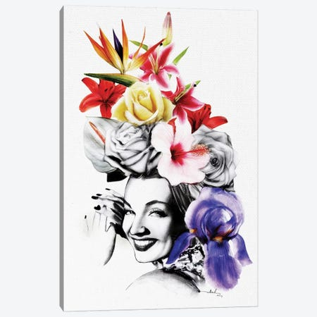 Chica Chica Boom Chic Canvas Print #NET9} by Nettsch Canvas Artwork
