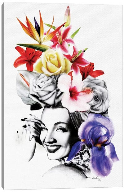 Chica Chica Boom Chic Canvas Print #NET9