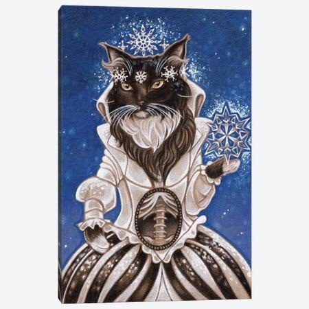 Firefly Cat Canvas Print #NEW14} by Natalie Ewert Canvas Print