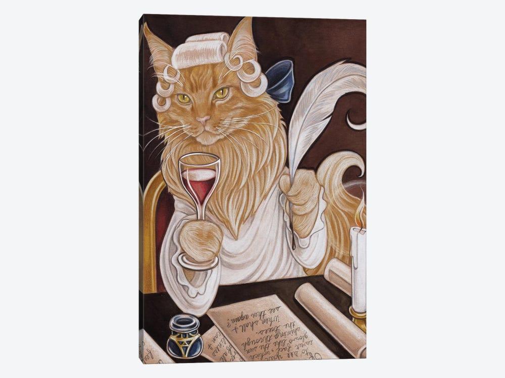 Cat Casanova by Natalie Ewert 1-piece Canvas Artwork