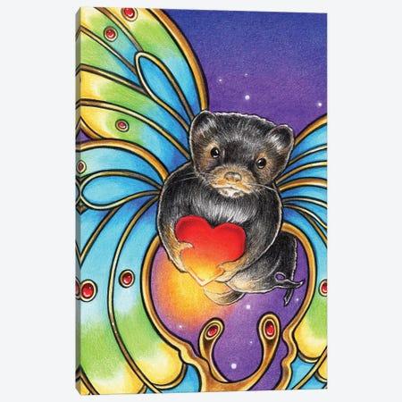 Mink Butterfly Canvas Print #NEW20} by Natalie Ewert Canvas Art Print