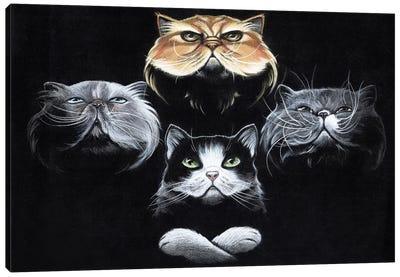 Queen Cats Canvas Art Print