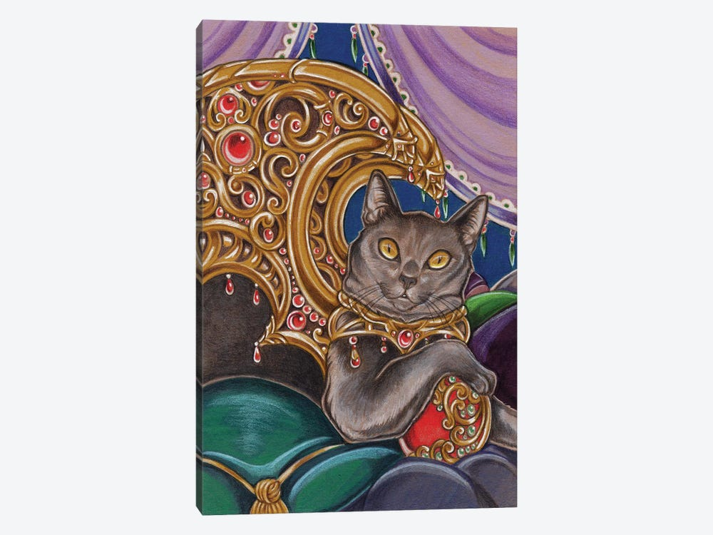 Cat Cato by Natalie Ewert 1-piece Art Print