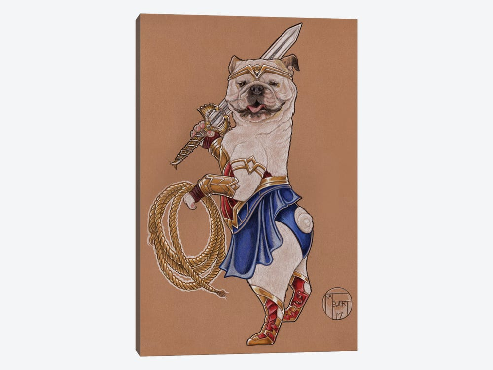Wonder Woman Mabel by Natalie Ewert 1-piece Canvas Artwork