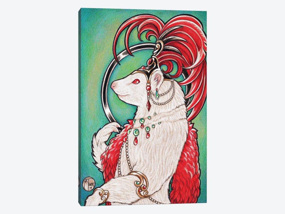 Ferret Gigi by Natalie Ewert 1-piece Canvas Artwork
