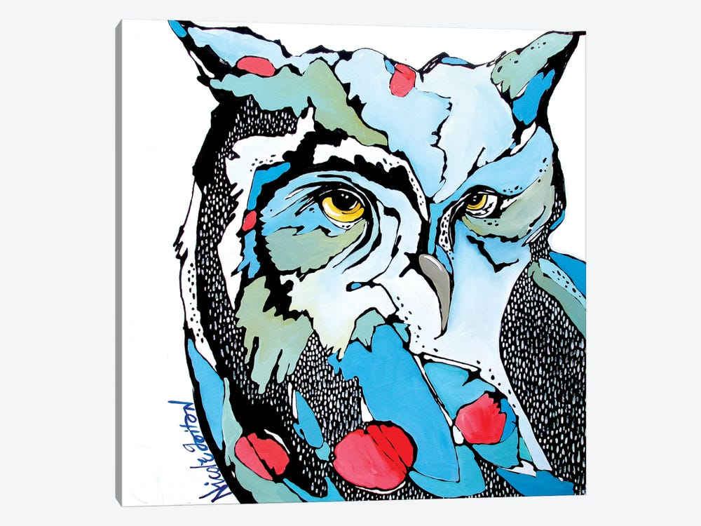 Eyes for You by Nicole Gaitan 1-piece Canvas Print