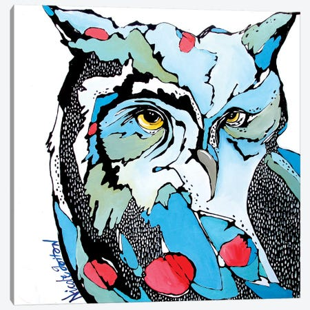 Eyes for You Canvas Print #NGA16} by Nicole Gaitan Canvas Art