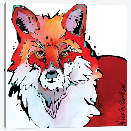 Foxy Brown Canvas Print #NGA17} by Nicole Gaitan Canvas Art
