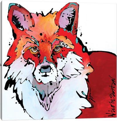 Foxy Brown Canvas Art Print