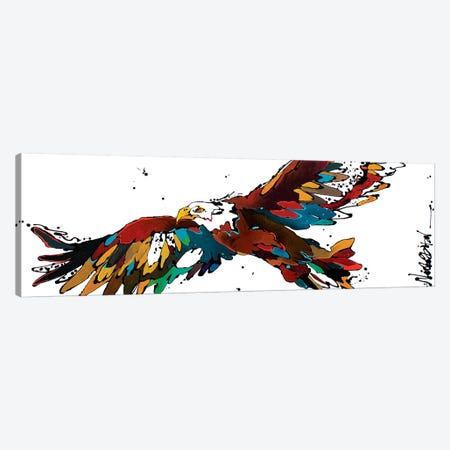 Freedom Flyer Canvas Print #NGA18} by Nicole Gaitan Canvas Art Print
