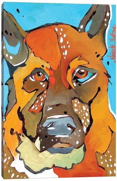 Jackie Canvas Art Print