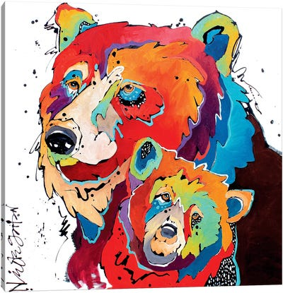 Motherhood Canvas Art Print