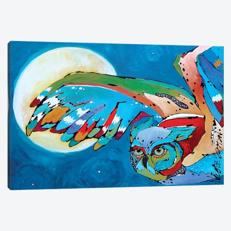 Pam's Owl II 3-Piece Canvas #NGA32} by Nicole Gaitan Art Print