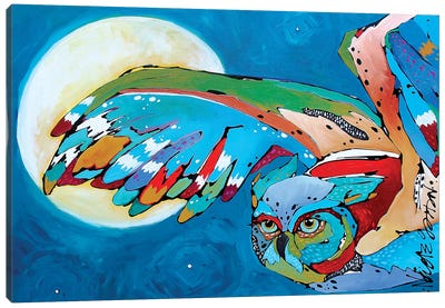 Pam's Owl II Canvas Art Print