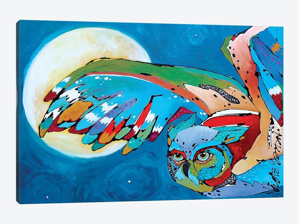 Pam's Owl II by Nicole Gaitan 1-piece Art Print