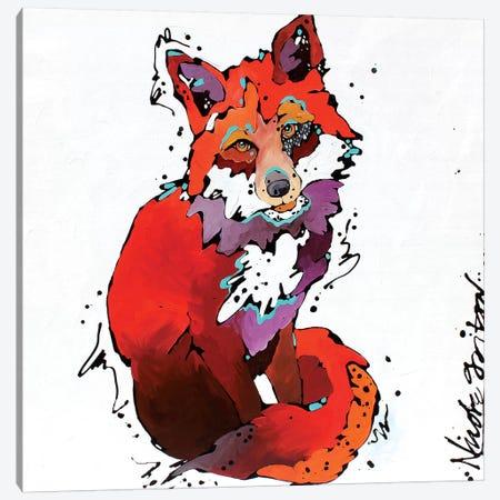 Red Canvas Print #NGA36} by Nicole Gaitan Canvas Wall Art