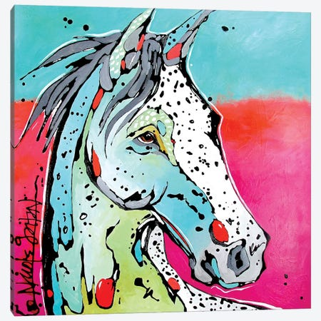 Ride Canvas Print #NGA40} by Nicole Gaitan Canvas Artwork