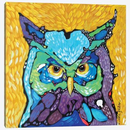 Starry Eyed Canvas Print #NGA45} by Nicole Gaitan Art Print